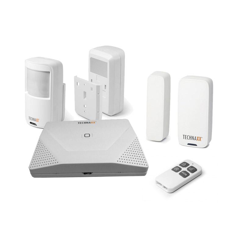 Σύστημα Συναγερμού WiFi με Ανιχνευτή Κίνησης και Χειριστήριο για Εσωτερικούς Χώρους Technaxx TX-84