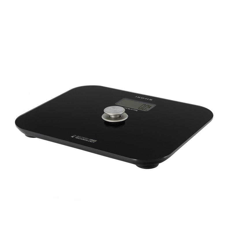 Ψηφιακή Ζυγαριά Μπάνιου Χρώματος Μαύρο EXIGES IKOHS 8435507914918