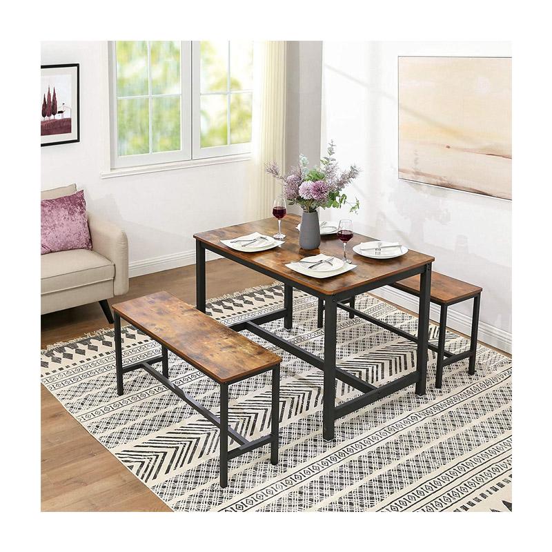 Ορθογώνιο Μεταλλικό Τραπέζι 120 x 75 x 75 cm VASAGLE KDT75X