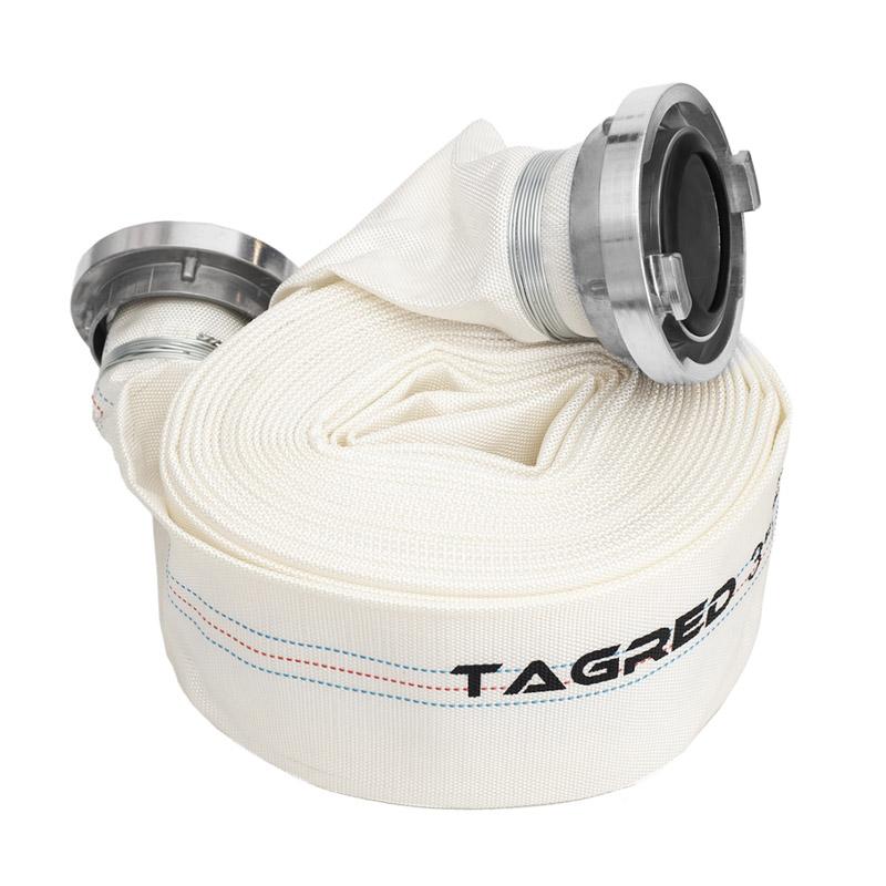 """Μάνικα Πυρόσβεσης με Ρακόρ 3"""" 20 m TAGRED TA532"""
