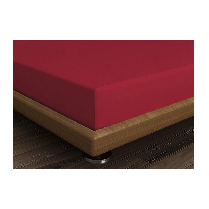 Διπλό Σεντόνι 240 x 260 cm Χρώματος Κόκκινο Beverly Hills Polo Club 187BHP1210