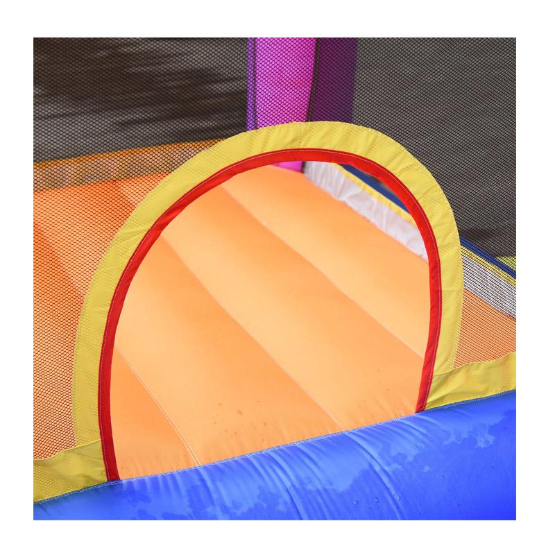 Παιδικό Φουσκωτό Κάστρο - Τραμπολίνο με Τσουλήθρα και Πισίνα 300 x 280 x 170 cm Outsunny 342-020V90