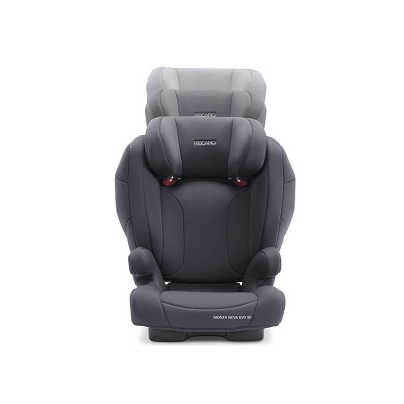 Παιδικό Κάθισμα Αυτοκινήτου για Παιδιά 15-36 Kg Recaro Monza Nova Seatfix Evo Simply Χρώματος Γκρι 88012260050