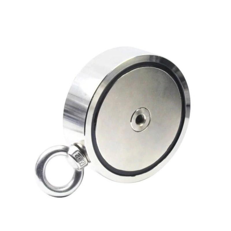 Μαγνήτης Νεοδυμίου για Ανύψωση με Περιστρεφόμενο Άγκιστρο 350 Kg Kraft&Dele KD-10419