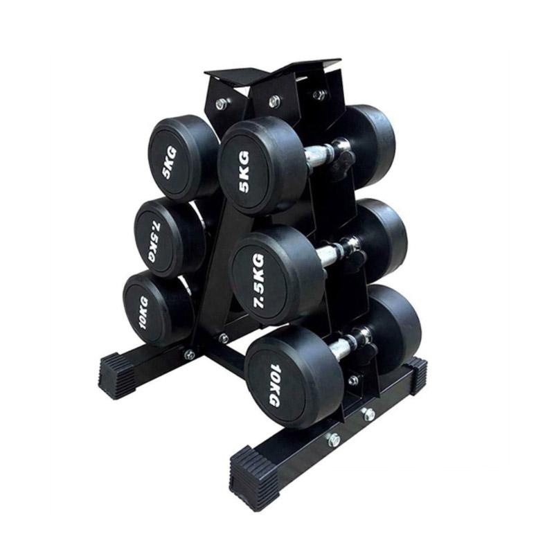 Μεταλλική Βάση για 3 Ζευγάρια Αλτήρων 55.5 x 37 x 35.5 cm Hoppline HOP1001190