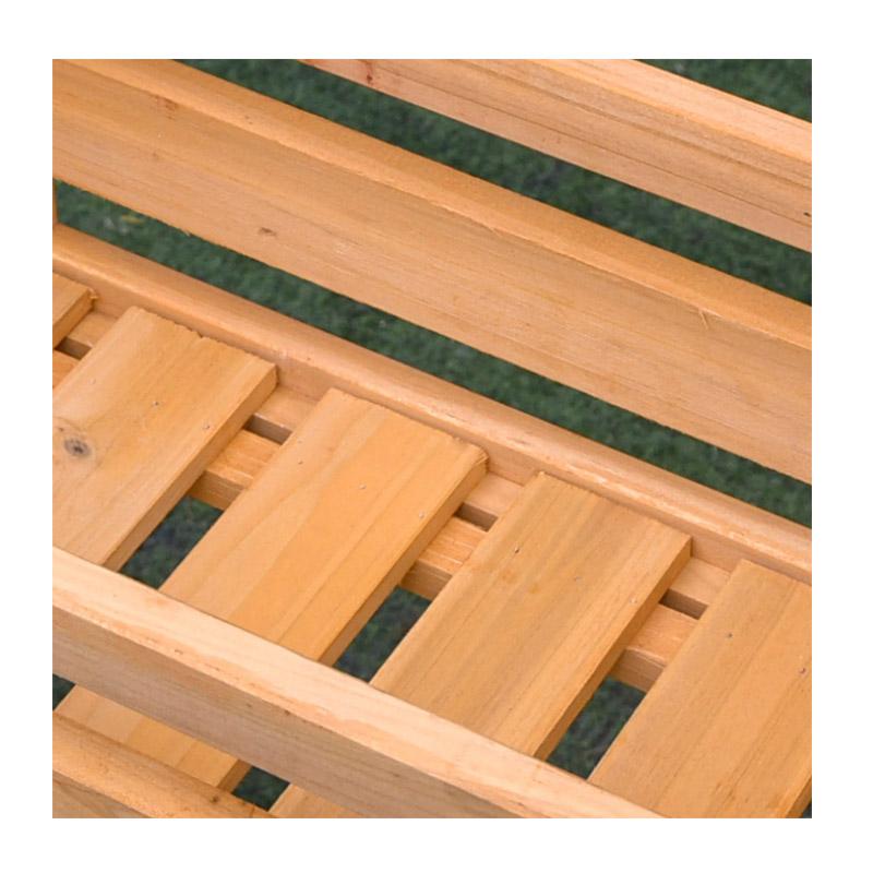 Ξύλινη Ζαρντινιέρα με 3 Θέσεις 50.8 x 22.8 x 40.6 cm Outsunny 845-351YL