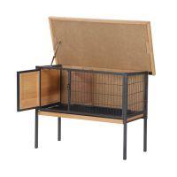 Μεταλλικό Κλουβί Εξωτερικού Χώρου για Κατοικίδια 91.5 x 45 x 70 cm PawHut D51-177
