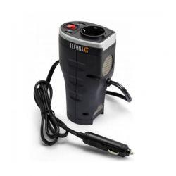 Car Power Inverter Technaxx with 2 USB Ports TE-13