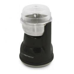 Ηλεκτρικός Μύλος Άλεσης Καφέ και Μπαχαρικών Χρώματος Μαύρο Lungo Esperanza EKC-002