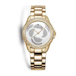 Γυναικείο Ρολόι Χρώματος Χρυσό με Μεταλλικό Μπρασελέ και Κρύσταλλα Swarovski® Timothy Stone K-012-ALGD