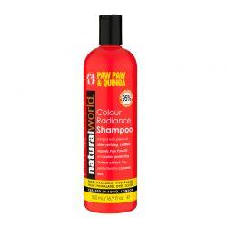 Σαμπουάν Paw Paw & Quinoa Colour Radiance για Λάμψη σε Βαμμένα Μαλλιά Natural World 500ml
