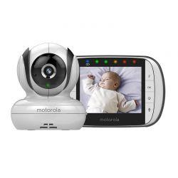 """Συσκευή Παρακολούθησης Μωρού με Έγχρωμη Οθόνη 3.5"""" Motorola MBP36S"""