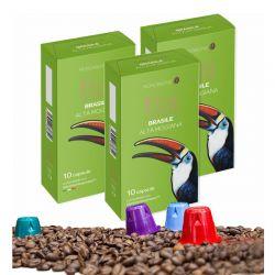 Κάψουλες Καφέ Neronobile Μονοποικιλιακός Brasile