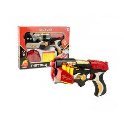 Παιδικό Πιστόλι με Λέιζερ και 6 Βελάκια με Στόχο MWS4985