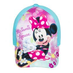 Παιδικό Καπέλο Τζόκεϊ Χρώματος Γαλάζιο Minnie Mouse Disney ER4005