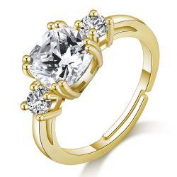 Δαχτυλίδι Meghan Replica Philip Jones Χρώματος Χρυσό με Κρύσταλλα Swarovski®