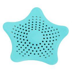 Τάπα Σιφωνιού για τις Τρίχες σε Σχήμα Αστερία Χρώματος Μπλε plug filter BLUE