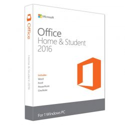 Microsoft Office Home and Student 2016 32/64 Bit for PC για Οικιακή Χρήση και Φοιτητές XHS2016XFPP