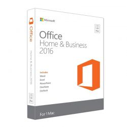 Microsoft Office Home and Business 2016 For Mac W6F-00627