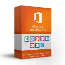 Microsoft Office Professional Plus 2016 32/64 bit for PC 269-16805