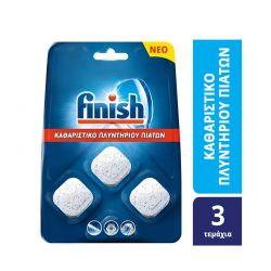 Καθαριστικό Πλυντηρίου Πιάτων Finish 3 Ταμπλέτες Finish-cubes