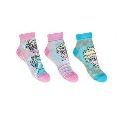 Σετ Παιδικές Κάλτσες Σοσόνια 3 Ζευγάρια Pack 1 Frozen Disney ER0607