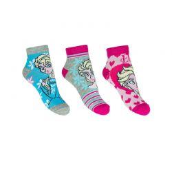 Σετ Παιδικές Κάλτσες Σοσόνια 3 Ζευγάρια Pack 2 Frozen Disney ER0607