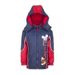 Παιδικό Μπουφάν Χρώματος Κόκκινο Mickey Disney HO1031