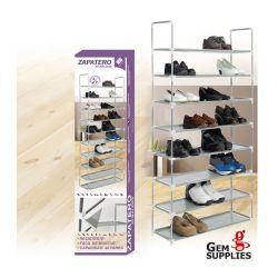 Stand Αποθήκευσης 40 Ζευγαριών Παπουτσιών με 10 Ράφια GEM BN1051