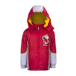 Παιδικό Μπουφάν με Κουκούλα Χρώματος Κόκκινο Angry Birds Disney HO1217