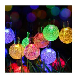 Ηλιακοί Πολύχρωμοι Λαμπτήρες LED Globrite 30 τμχ CrystalBulb