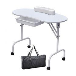 Αναδιπλούμενο Φορητό Τραπέζι Μανικιούρ με Τσάντα Μεταφοράς Hoppline HOP1000872-1