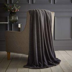 Ριχτάρι Jumbo Cord 150 x 200 cm Silentnight Χρώματος Ανθρακί