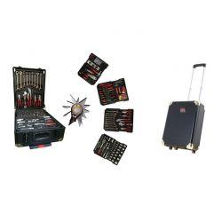 Βαλίτσα Εργαλείων με 286 τμχ Herzberg HG-5001