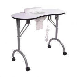 Αναδιπλούμενο Φορητό Τραπέζι Μανικιούρ με Ανεμιστήρα και Τσάντα Μεταφοράς Hoppline HOP1000905-1