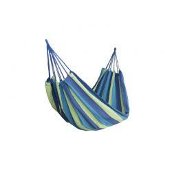 Υφασμάτινη Διπλή Αιώρα 185 x 150 cm Χρώματος Μπλε Hoppline HOP1000120-2