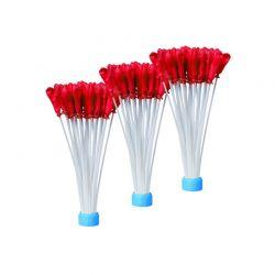Σετ Μπαλόνια Νερού 120 τμχ Χρώματος Κόκκινο Hoppline HOP1000871-2