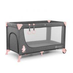 Βρεφικό Φορητό Κρεβάτι Χρώματος Ροζ KinderKraft Joy