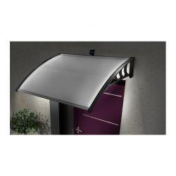 Πλαστικό Κιόσκι - Τέντα Πόρτας Εισόδου με Ηλιακό LED Φωτισμό 80 x 150 cm 40070220