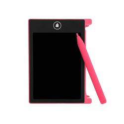 Mini Ψηφιακός Πίνακας Γραφής - Ηλεκτρονικό Σημειωματάριο με Έγχρωμη Οθόνη LCD Χρώματος Ροζ SPM DB4642