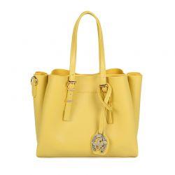 Γυναικεία Τσάντα Χειρός Χρώματος Κίτρινο Beverly Hills Polo Club 602 657BHP0551