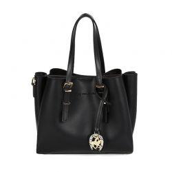 Γυναικεία Τσάντα Χειρός Χρώματος Μαύρο Beverly Hills Polo Club 602 657BHP0555