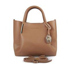 Γυναικεία Τσάντα Χειρός Χρώματος Camel Beverly Hills Polo Club 701 657BHP0613