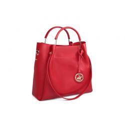 Γυναικεία Τσάντα Χειρός Χρώματος Κόκκινο Beverly Hills Polo Club 396 657BHP0577