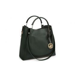 Γυναικεία Τσάντα Χειρός Χρώματος Πράσινο Beverly Hills Polo Club 396 657BHP0575