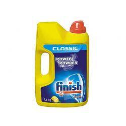 Απορρυπαντικό Σκόνη Πλυντηρίου Πιάτων Finish Power Powder Λεμόνι 2.5 kg Finish-PowerPowder-L