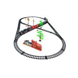 Σιδηρόδρομος με Ηλεκτρικό Ατμοκίνητο Τρένο 700 cm SPM 8239