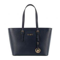 Γυναικεία Τσάντα Χειρός Χρώματος Navy Beverly Hills Polo Club 562 650BHP0520