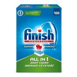 Απορρυπαντικό Πλυντηρίου Πιάτων Finish All In 1 Regular 100 Ταμπλέτες Fin-Allin1-100