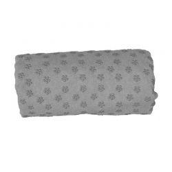 Πετσέτα Γιόγκα με Θήκη Μεταφοράς Χρώματος Γκρι Hoppline HOP1000973-3